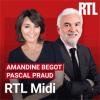 Podcast RTL midi avec Amandine Begot et Pascal Praud