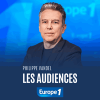 Podcast Europe 1 Les audiences tv par Philippe Vandel