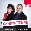 France Inter podcast On aura tout vu avec Christine Masson, Laurent Delmas