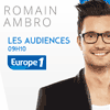 Podcast Europe 1 Les audiences tv par Romain Ambro